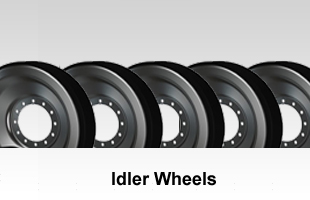 Polyurethane and Rubber Idler Wheels
