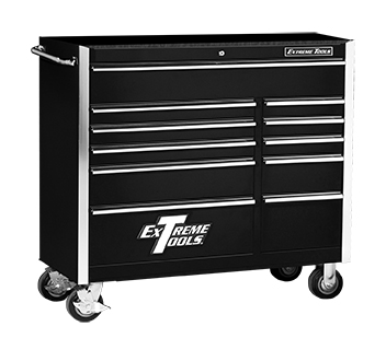"Extreme Tools® 41"" 11 Drawer Standard Roller Cabinet"
