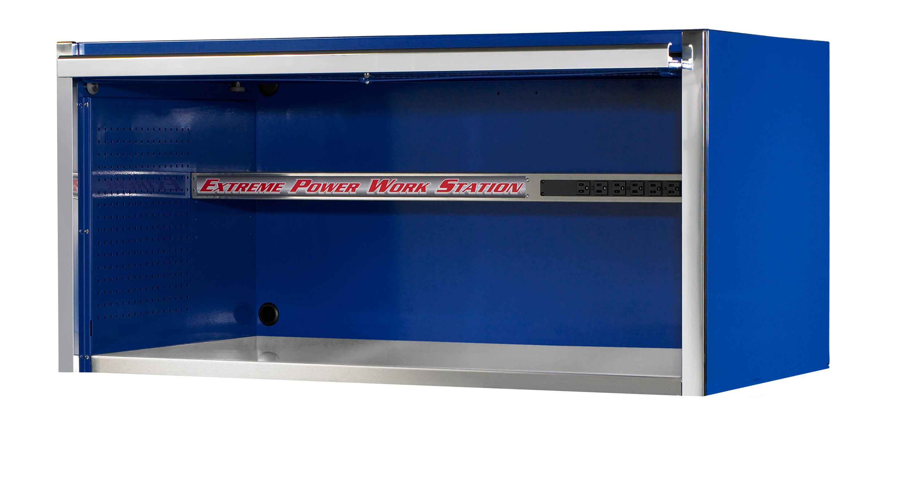 "Extreme Tools® 55"" Professional Power Workstation Hutch"