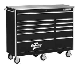 "Extreme Tools® 56"" 11 Drawer Standard Roller Cabinet"