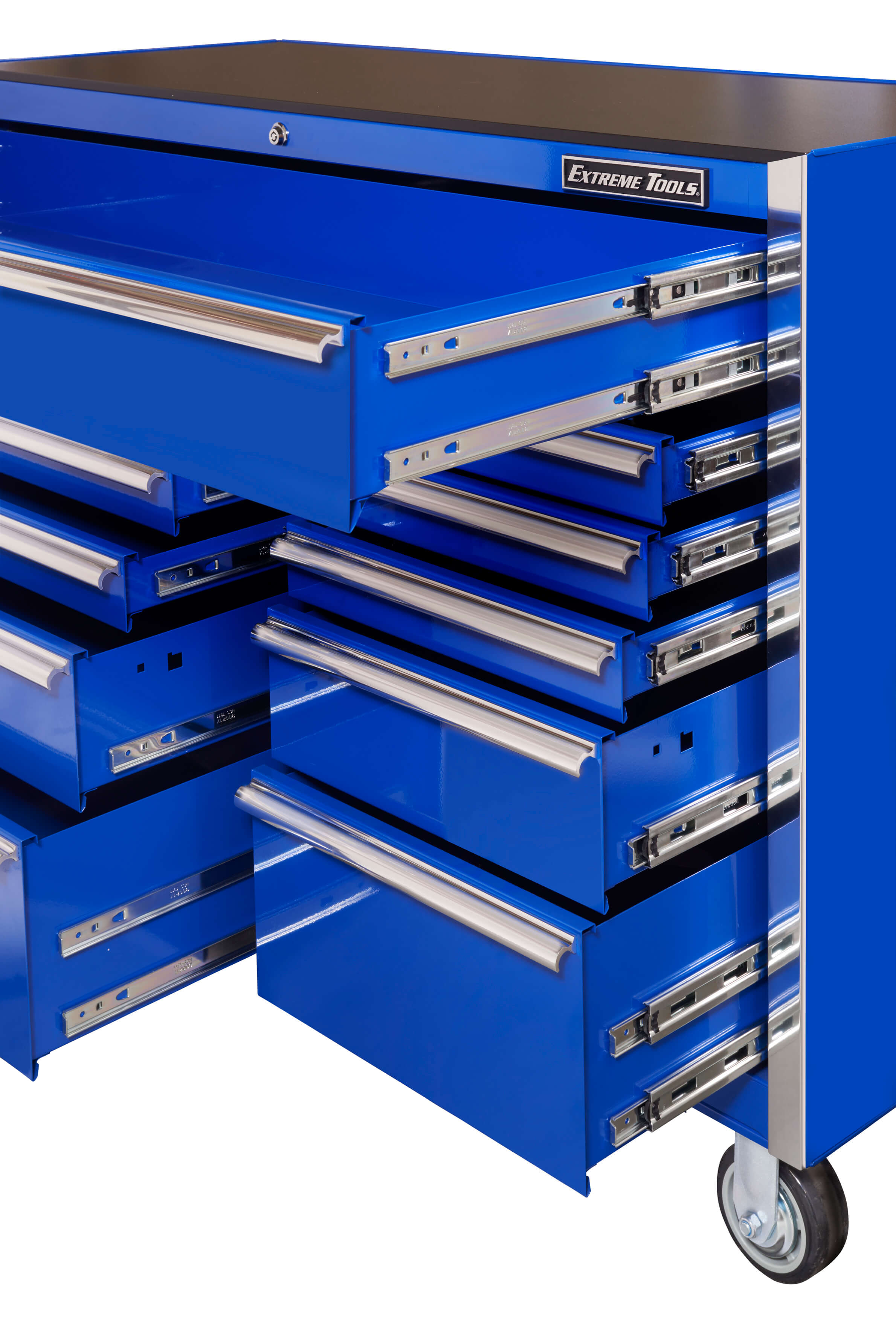 EXTREME TOOLS® 56 inch 11 DRAWER STANDARD ROLLER CABINET