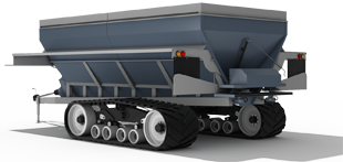 Fertilizer Undercarriage System