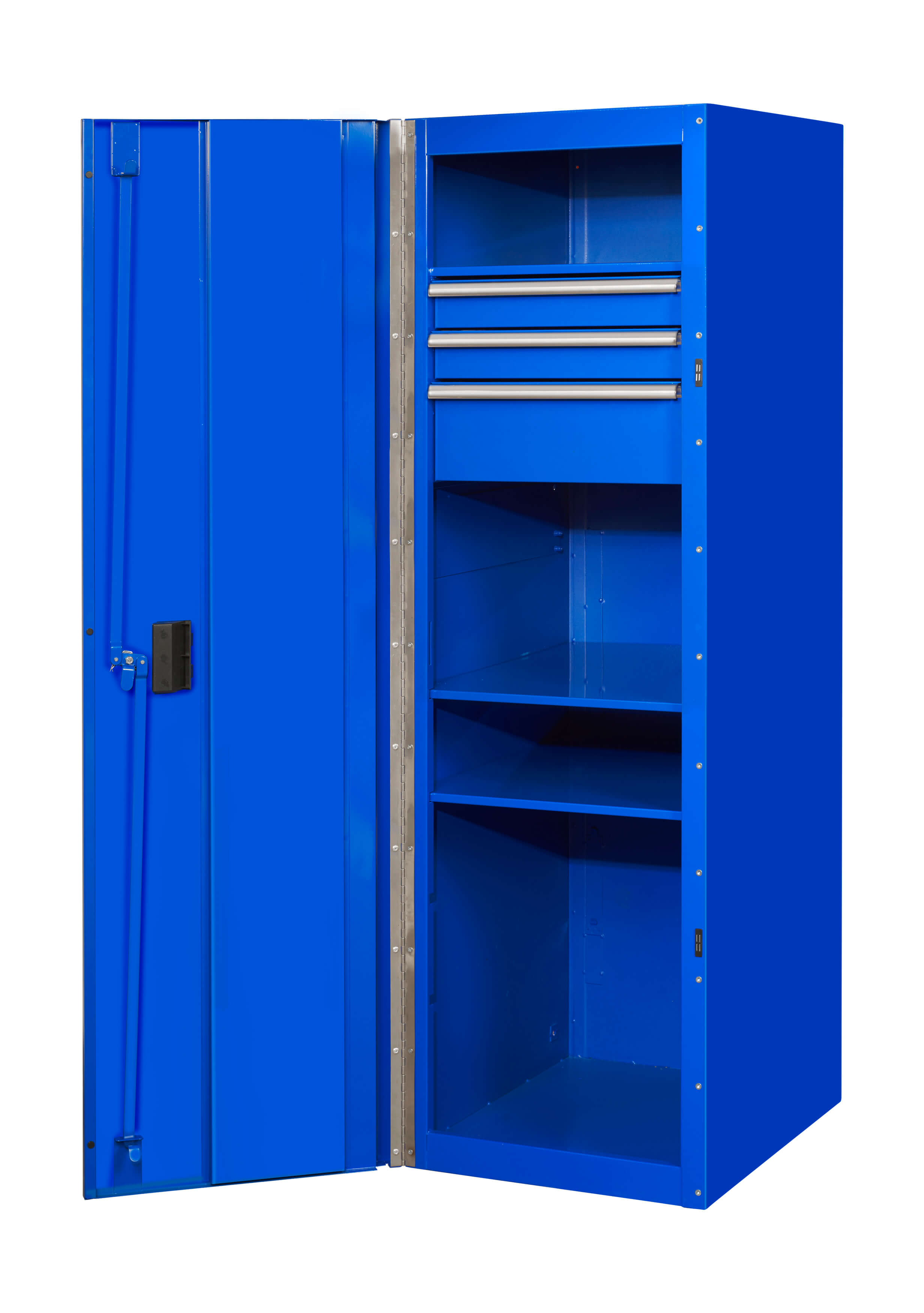 "Extreme Tools 19"" 3-Drawer and 3-Shelf Side Locker"