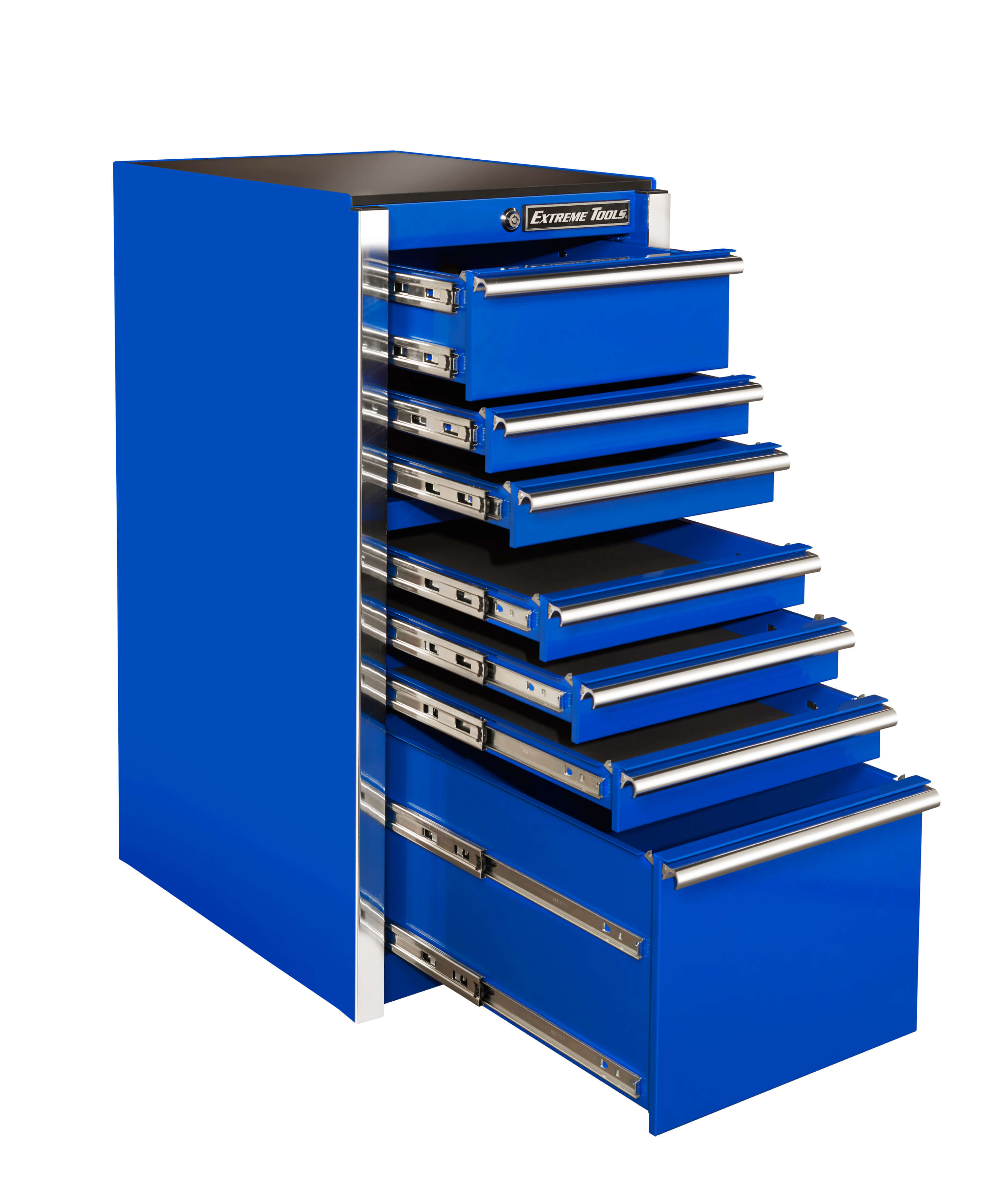 "Extreme Tools 19"" 7-Drawer Side Box"