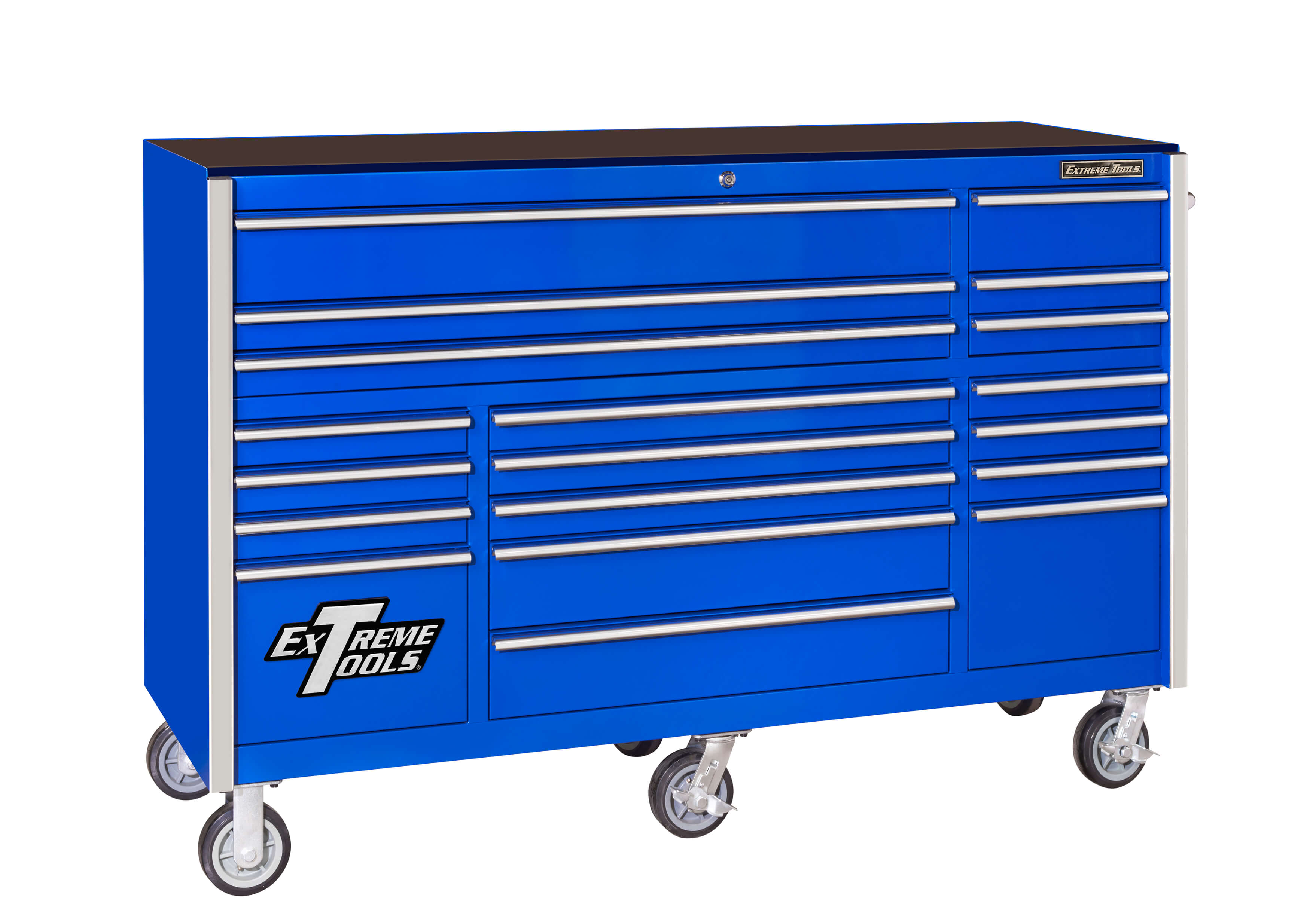 "Extreme Tools RX Series 72"" 19-Drawer Roller Cabinet"