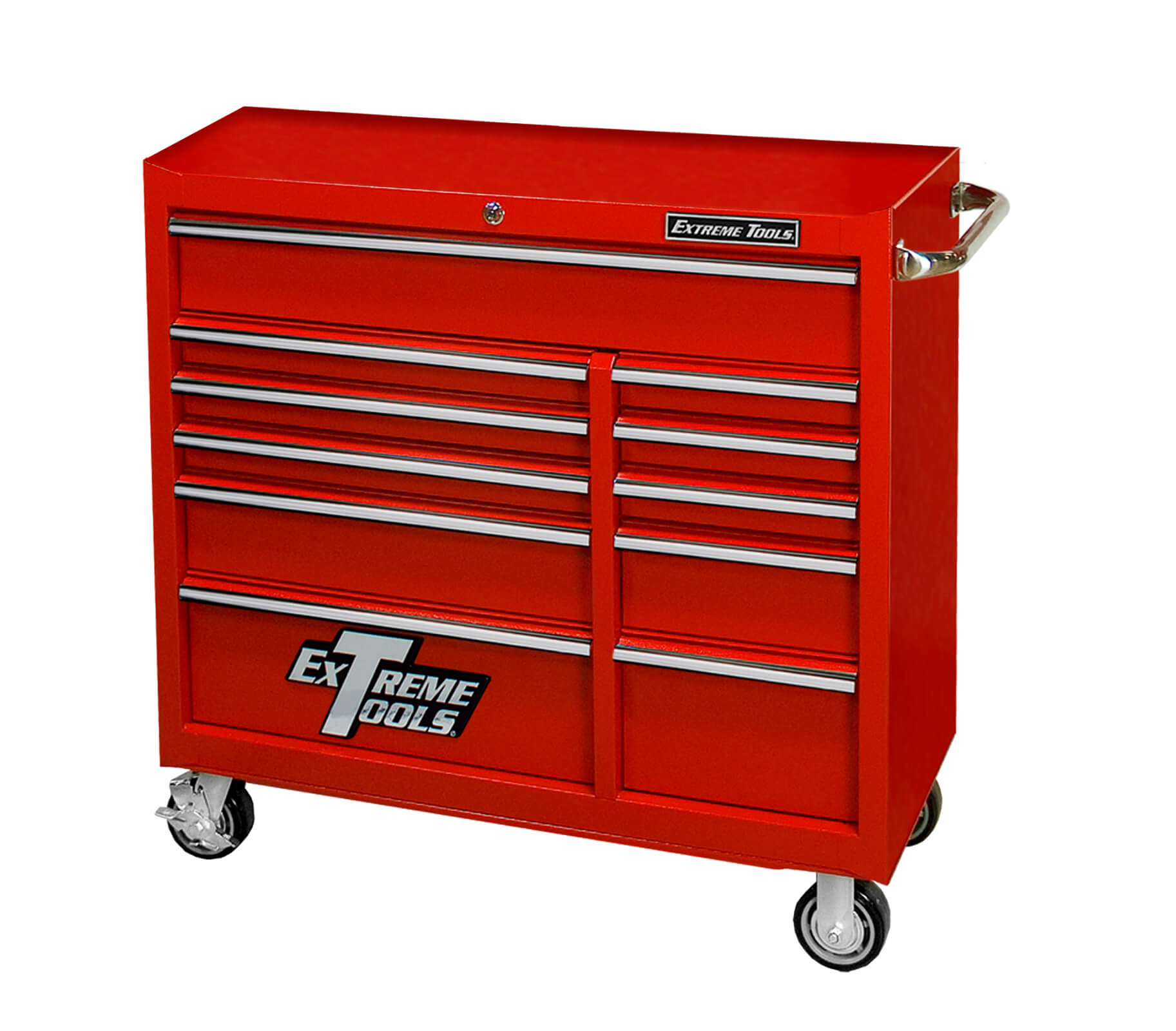 "Extreme Tools® 41"" 11 Drawer Roller Cabinet"