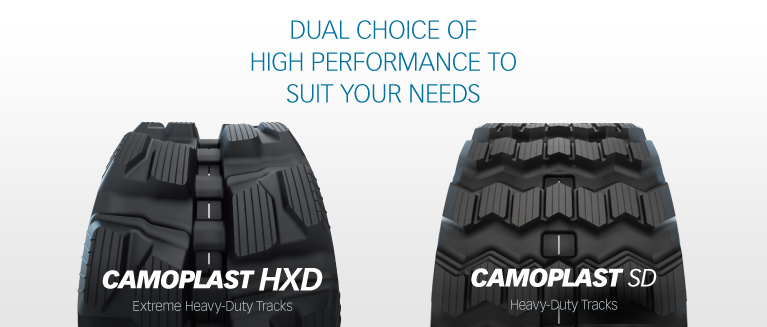 Camoplast Construction Tracks HXD and SD