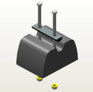 Guide Block Re-Placement Kit for John Deere 8000T